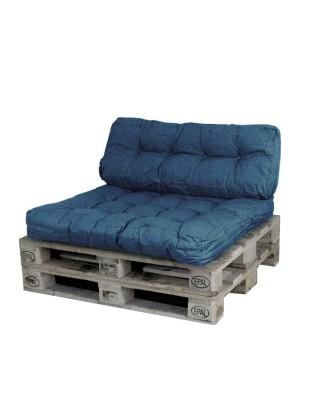 2 dalių pagalvės paletėms,suolams,sofoms..